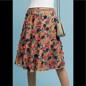 Anthropologie Bhanuni Jyoti skirt size 4 NWT